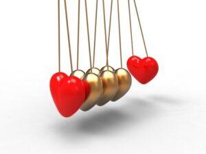 Heart Pendulum